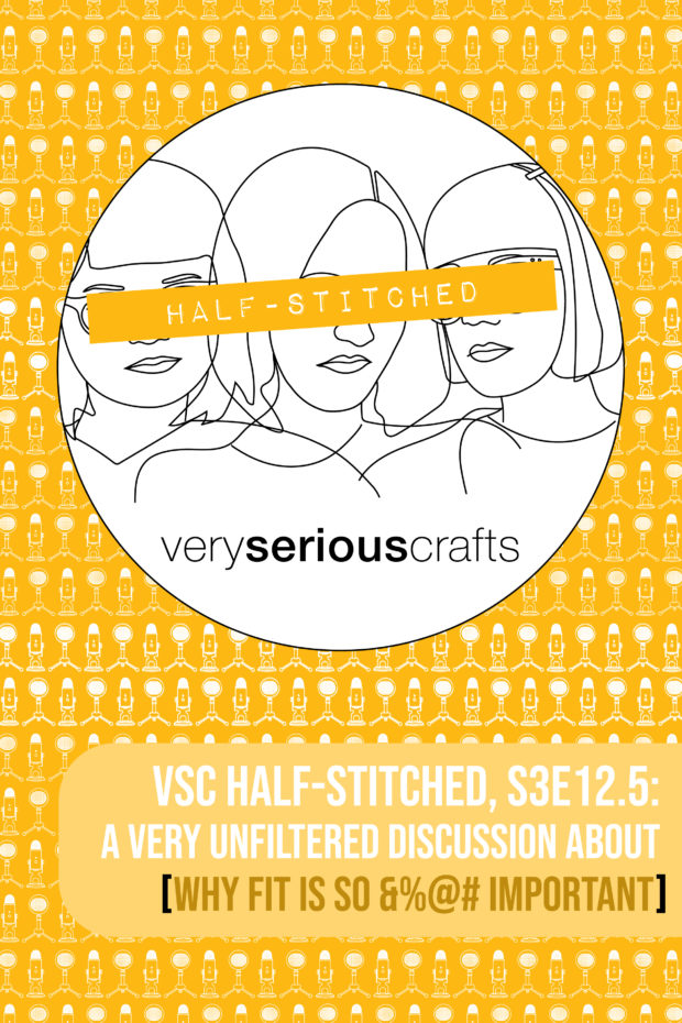 The Very Serious Crafts Podcast, Patreon Half-Stitched Episode S3E12.5